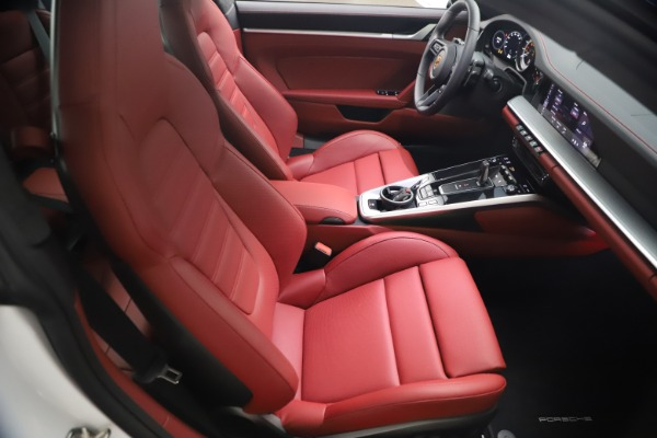 Used 2021 Porsche 911 Turbo S for sale $273,900 at Aston Martin of Greenwich in Greenwich CT 06830 17