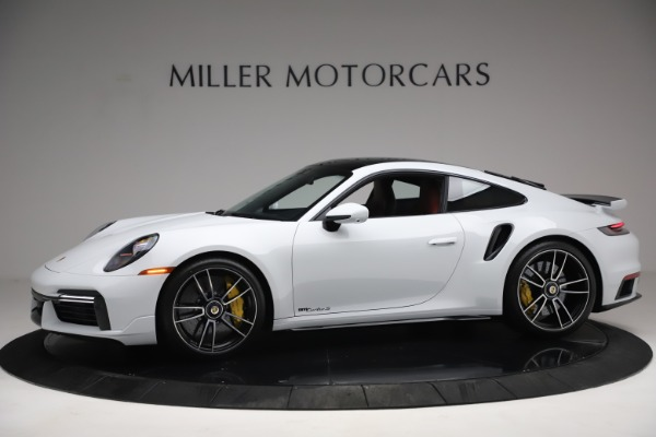 Used 2021 Porsche 911 Turbo S for sale $273,900 at Aston Martin of Greenwich in Greenwich CT 06830 2