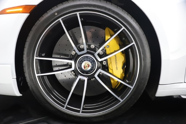Used 2021 Porsche 911 Turbo S for sale $273,900 at Aston Martin of Greenwich in Greenwich CT 06830 24