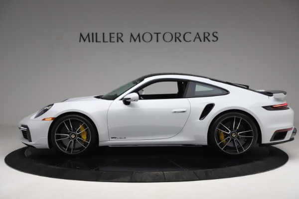 Used 2021 Porsche 911 Turbo S for sale $273,900 at Aston Martin of Greenwich in Greenwich CT 06830 3