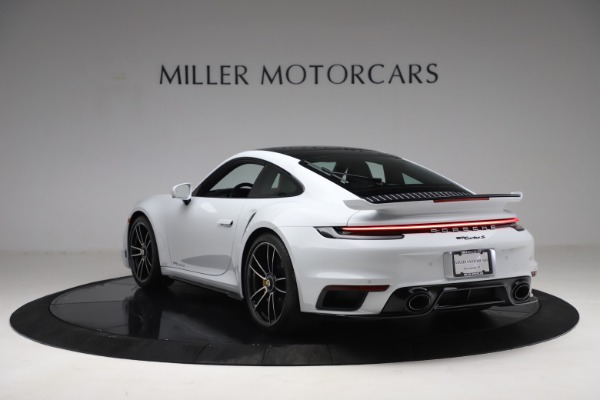 Used 2021 Porsche 911 Turbo S for sale $273,900 at Aston Martin of Greenwich in Greenwich CT 06830 5