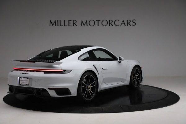 Used 2021 Porsche 911 Turbo S for sale $273,900 at Aston Martin of Greenwich in Greenwich CT 06830 7