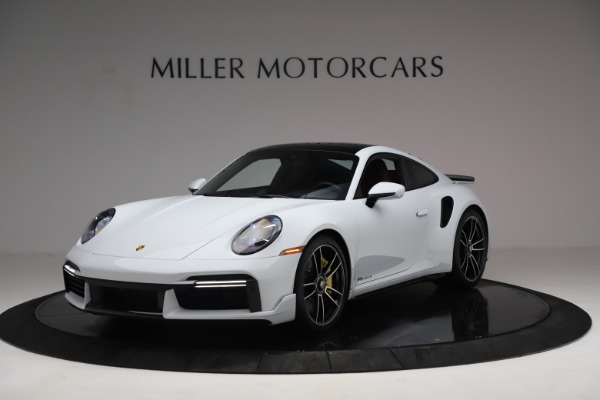 Used 2021 Porsche 911 Turbo S for sale $273,900 at Aston Martin of Greenwich in Greenwich CT 06830 1
