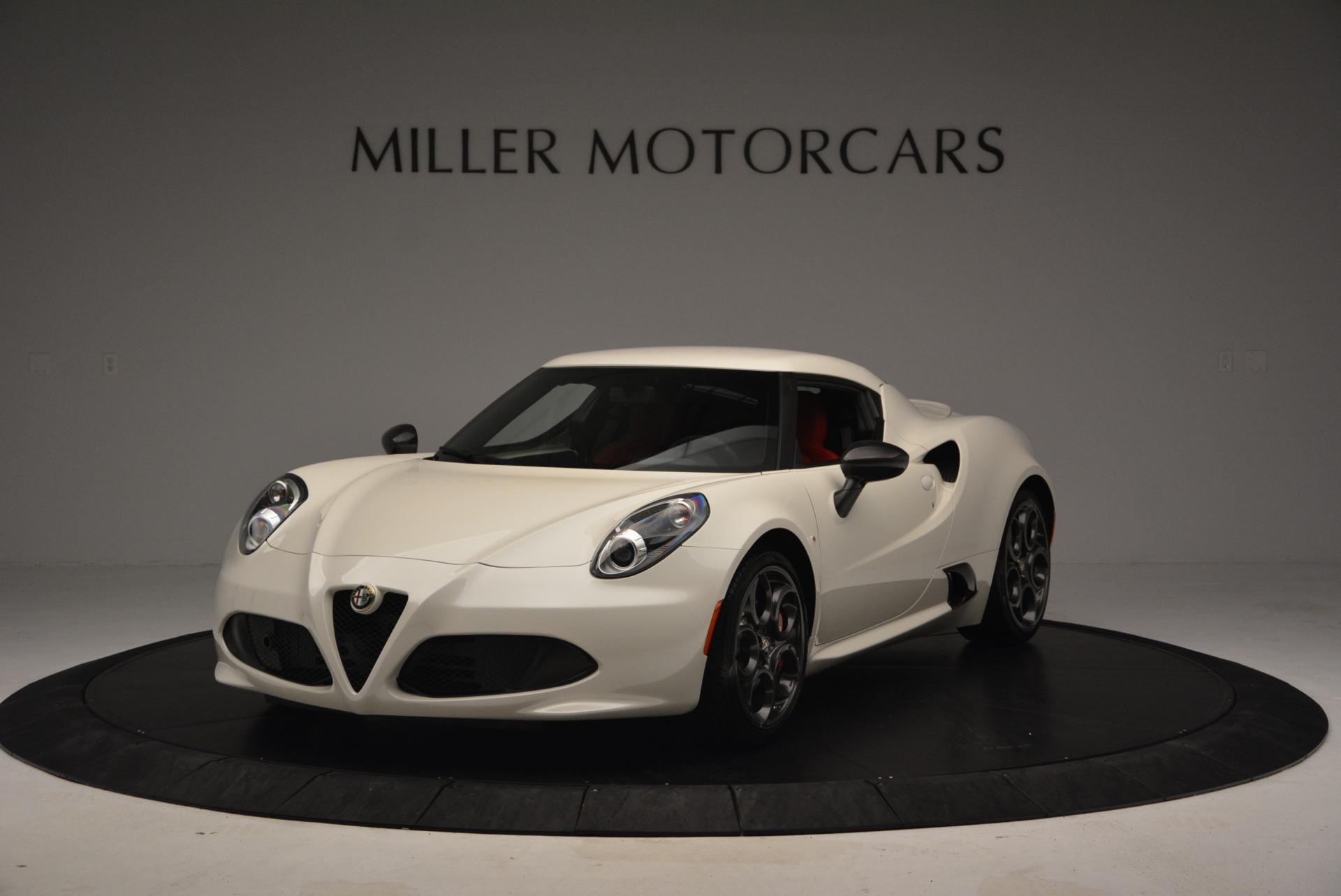Used 2015 Alfa Romeo 4C for sale Sold at Aston Martin of Greenwich in Greenwich CT 06830 1