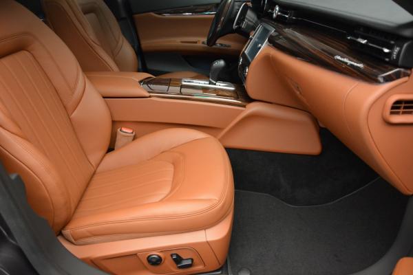 New 2016 Maserati Quattroporte S Q4 for sale Sold at Aston Martin of Greenwich in Greenwich CT 06830 22