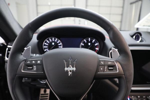 New 2021 Maserati Ghibli S Q4 GranSport for sale $100,635 at Aston Martin of Greenwich in Greenwich CT 06830 16