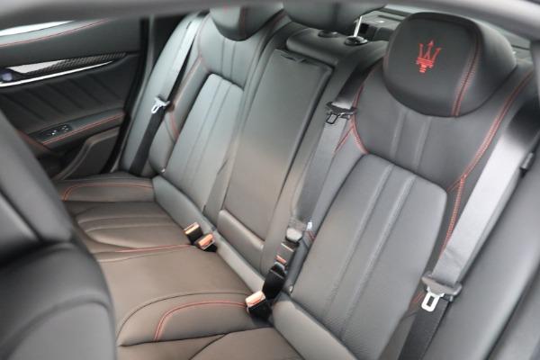 New 2021 Maserati Ghibli S Q4 GranSport for sale $100,635 at Aston Martin of Greenwich in Greenwich CT 06830 18