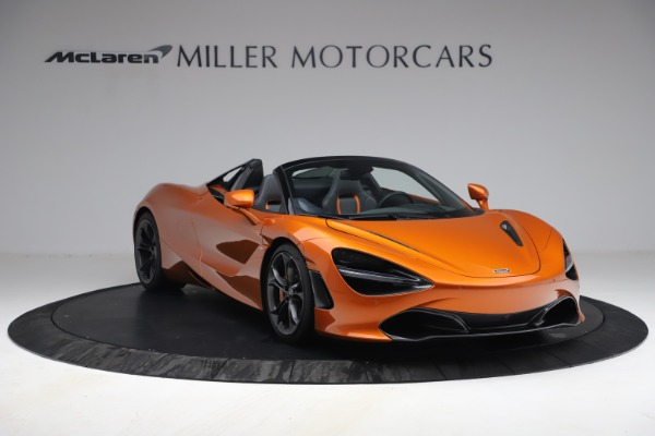 Used 2020 McLaren 720S Spider for sale $335,900 at Aston Martin of Greenwich in Greenwich CT 06830 11