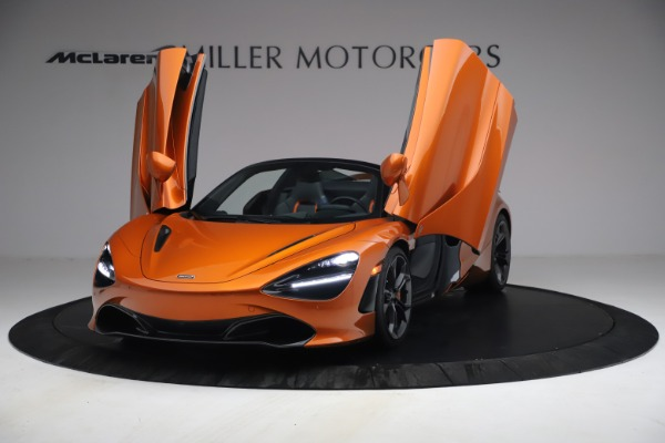 Used 2020 McLaren 720S Spider for sale $335,900 at Aston Martin of Greenwich in Greenwich CT 06830 13