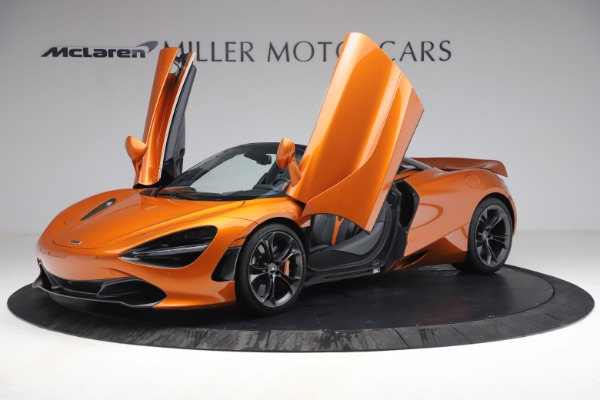 Used 2020 McLaren 720S Spider for sale $335,900 at Aston Martin of Greenwich in Greenwich CT 06830 14