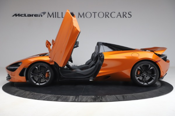 Used 2020 McLaren 720S Spider for sale $335,900 at Aston Martin of Greenwich in Greenwich CT 06830 15