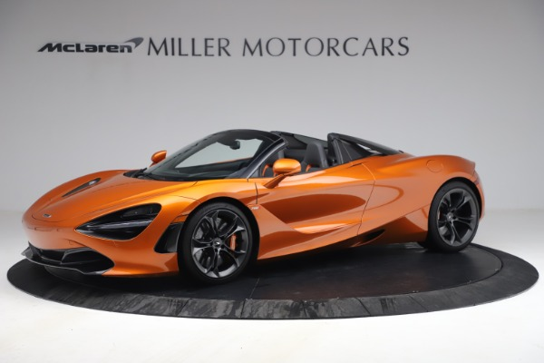 Used 2020 McLaren 720S Spider for sale $335,900 at Aston Martin of Greenwich in Greenwich CT 06830 2