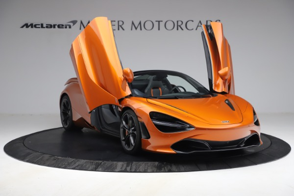 Used 2020 McLaren 720S Spider for sale $335,900 at Aston Martin of Greenwich in Greenwich CT 06830 23