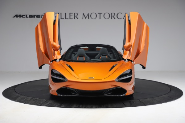 Used 2020 McLaren 720S Spider for sale $335,900 at Aston Martin of Greenwich in Greenwich CT 06830 24