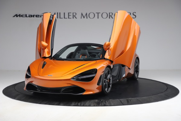 Used 2020 McLaren 720S Spider for sale $335,900 at Aston Martin of Greenwich in Greenwich CT 06830 25