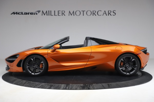 Used 2020 McLaren 720S Spider for sale $335,900 at Aston Martin of Greenwich in Greenwich CT 06830 3