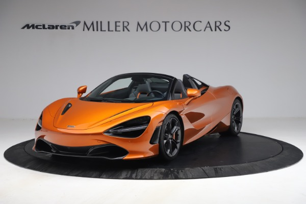 Used 2020 McLaren 720S Spider for sale $335,900 at Aston Martin of Greenwich in Greenwich CT 06830 1