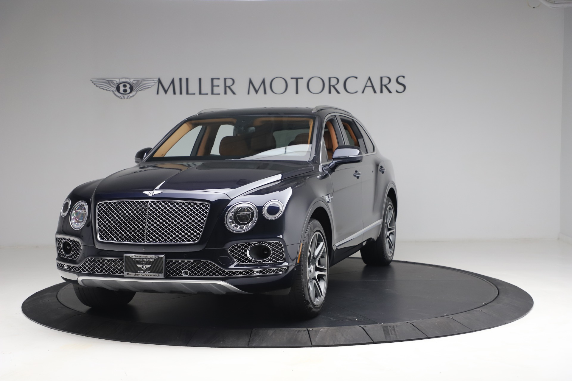 Used 2018 Bentley Bentayga W12 Signature for sale Call for price at Aston Martin of Greenwich in Greenwich CT 06830 1