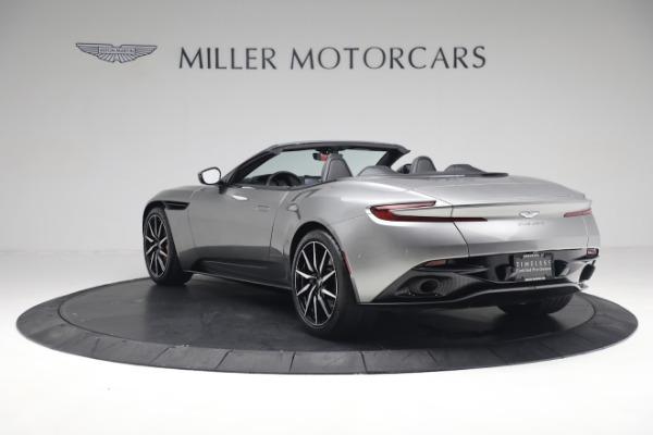 Used 2019 Aston Martin DB11 Volante for sale $209,900 at Aston Martin of Greenwich in Greenwich CT 06830 4
