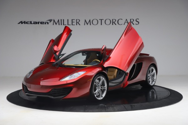 Used 2012 McLaren MP4-12C for sale Call for price at Aston Martin of Greenwich in Greenwich CT 06830 13