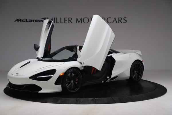 New 2021 McLaren 720S Spider for sale Sold at Aston Martin of Greenwich in Greenwich CT 06830 12