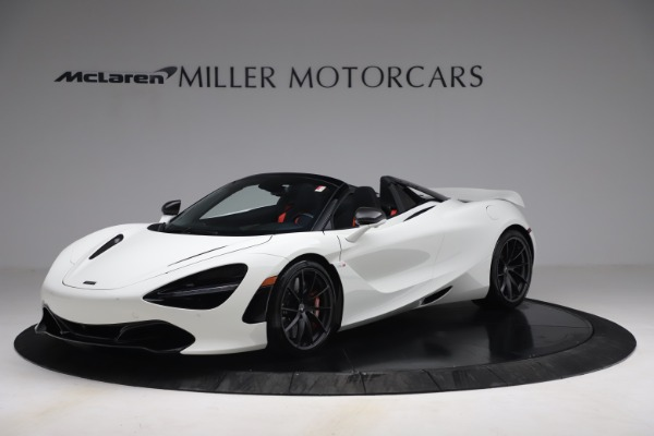 New 2021 McLaren 720S Spider for sale Sold at Aston Martin of Greenwich in Greenwich CT 06830 1