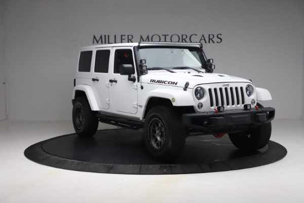 Used 2015 Jeep Wrangler Unlimited Rubicon Hard Rock for sale $39,900 at Aston Martin of Greenwich in Greenwich CT 06830 11