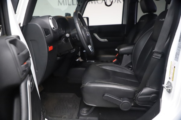 Used 2015 Jeep Wrangler Unlimited Rubicon Hard Rock for sale $39,900 at Aston Martin of Greenwich in Greenwich CT 06830 15