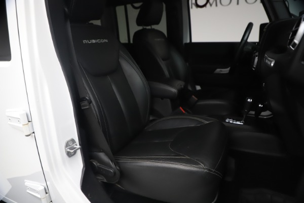 Used 2015 Jeep Wrangler Unlimited Rubicon Hard Rock for sale $39,900 at Aston Martin of Greenwich in Greenwich CT 06830 19
