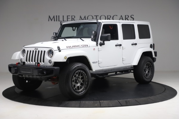 Used 2015 Jeep Wrangler Unlimited Rubicon Hard Rock for sale $39,900 at Aston Martin of Greenwich in Greenwich CT 06830 2