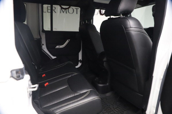 Used 2015 Jeep Wrangler Unlimited Rubicon Hard Rock for sale $39,900 at Aston Martin of Greenwich in Greenwich CT 06830 21
