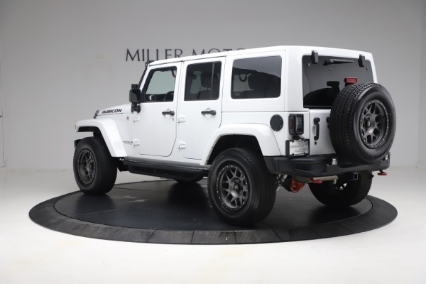 Used 2015 Jeep Wrangler Unlimited Rubicon Hard Rock for sale $39,900 at Aston Martin of Greenwich in Greenwich CT 06830 5