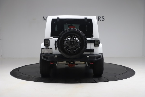 Used 2015 Jeep Wrangler Unlimited Rubicon Hard Rock for sale $39,900 at Aston Martin of Greenwich in Greenwich CT 06830 6