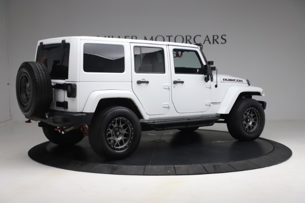Used 2015 Jeep Wrangler Unlimited Rubicon Hard Rock for sale $39,900 at Aston Martin of Greenwich in Greenwich CT 06830 8