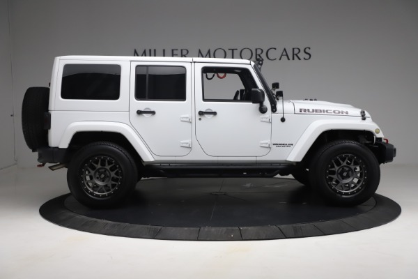 Used 2015 Jeep Wrangler Unlimited Rubicon Hard Rock for sale $39,900 at Aston Martin of Greenwich in Greenwich CT 06830 9