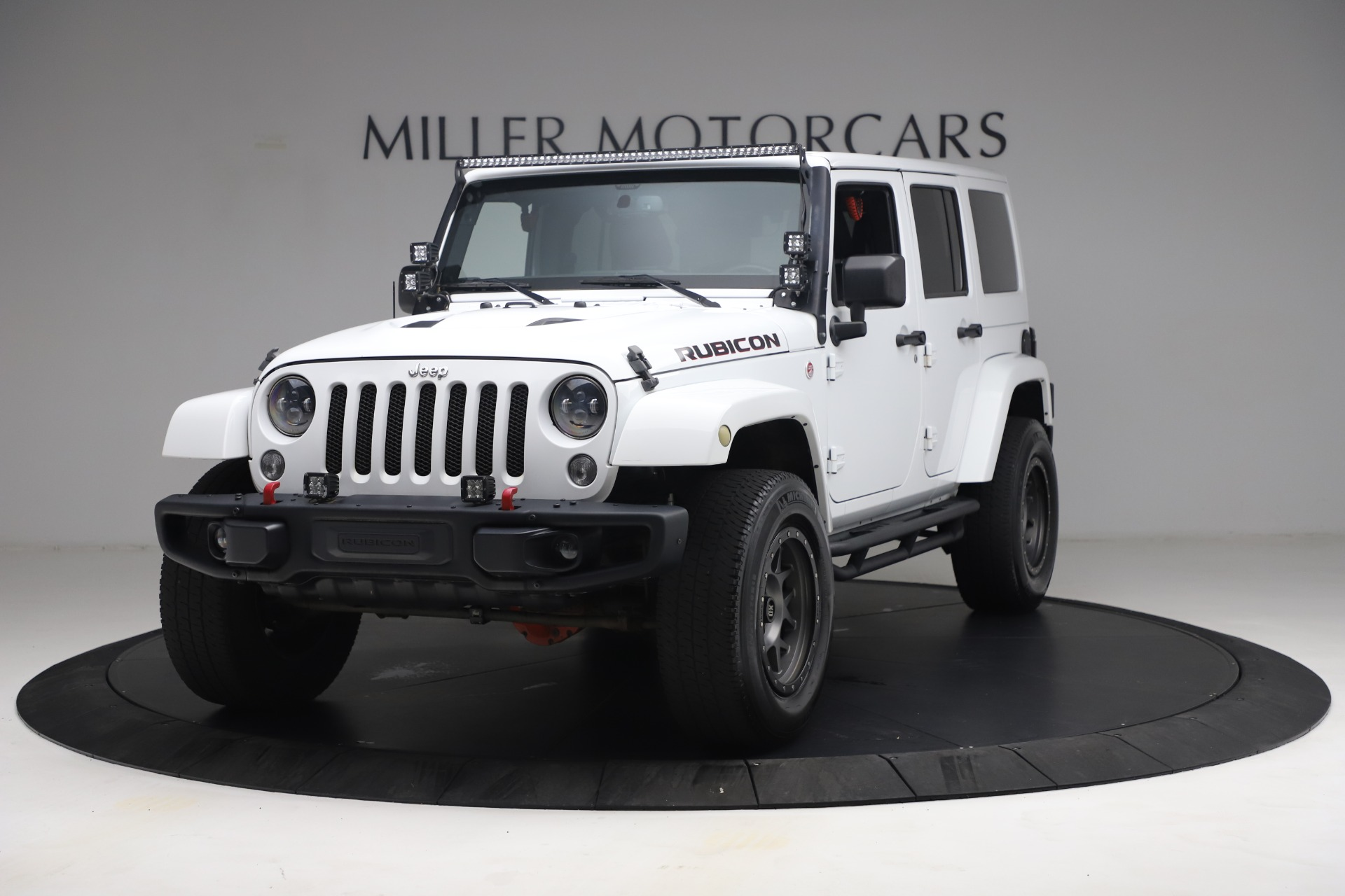 Used 2015 Jeep Wrangler Unlimited Rubicon Hard Rock for sale $39,900 at Aston Martin of Greenwich in Greenwich CT 06830 1