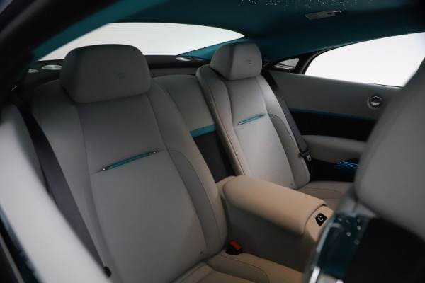 Used 2021 Rolls-Royce Wraith for sale $444,275 at Aston Martin of Greenwich in Greenwich CT 06830 18