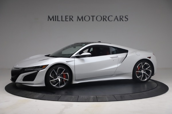 Used 2017 Acura NSX SH-AWD Sport Hybrid for sale $139,900 at Aston Martin of Greenwich in Greenwich CT 06830 2