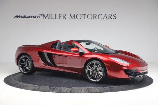 Used 2013 McLaren MP4-12C Spider for sale $134,900 at Aston Martin of Greenwich in Greenwich CT 06830 10