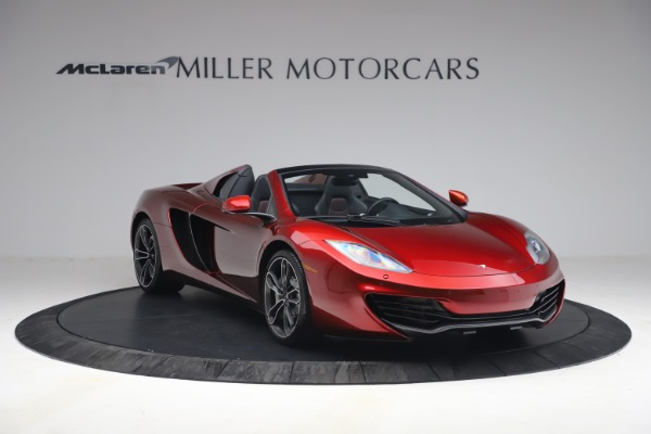Used 2013 McLaren MP4-12C Spider for sale $134,900 at Aston Martin of Greenwich in Greenwich CT 06830 11