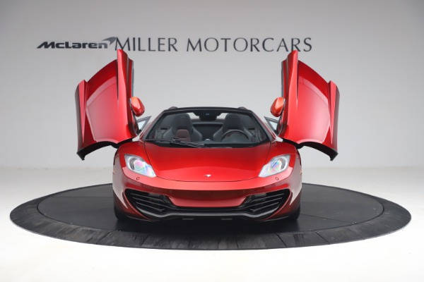 Used 2013 McLaren MP4-12C Spider for sale $134,900 at Aston Martin of Greenwich in Greenwich CT 06830 13