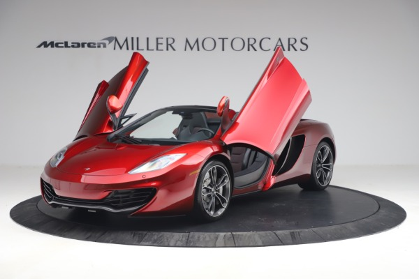 Used 2013 McLaren MP4-12C Spider for sale $134,900 at Aston Martin of Greenwich in Greenwich CT 06830 14
