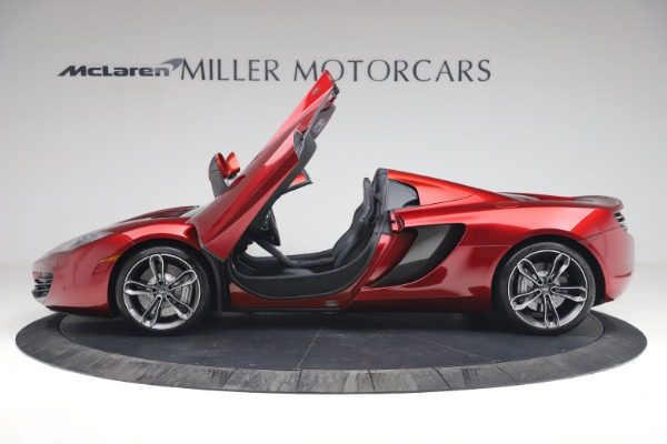 Used 2013 McLaren MP4-12C Spider for sale $134,900 at Aston Martin of Greenwich in Greenwich CT 06830 15