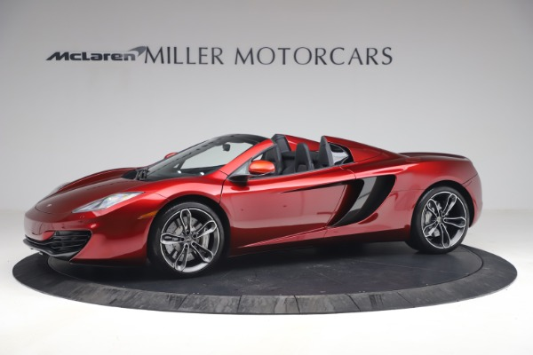 Used 2013 McLaren MP4-12C Spider for sale $134,900 at Aston Martin of Greenwich in Greenwich CT 06830 2