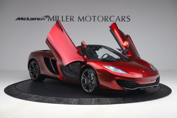 Used 2013 McLaren MP4-12C Spider for sale $134,900 at Aston Martin of Greenwich in Greenwich CT 06830 20