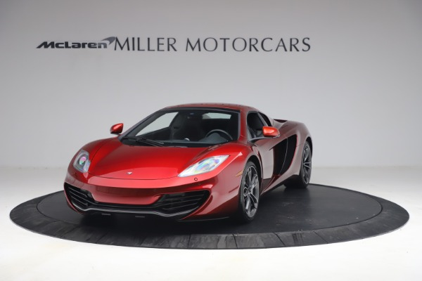 Used 2013 McLaren MP4-12C Spider for sale $134,900 at Aston Martin of Greenwich in Greenwich CT 06830 22