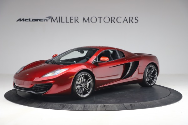 Used 2013 McLaren MP4-12C Spider for sale $134,900 at Aston Martin of Greenwich in Greenwich CT 06830 23