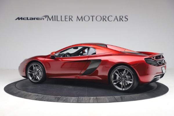 Used 2013 McLaren MP4-12C Spider for sale $134,900 at Aston Martin of Greenwich in Greenwich CT 06830 25