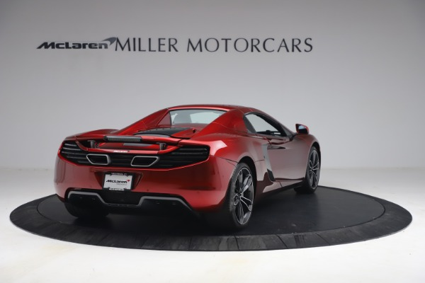 Used 2013 McLaren MP4-12C Spider for sale $134,900 at Aston Martin of Greenwich in Greenwich CT 06830 28