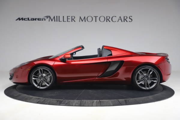Used 2013 McLaren MP4-12C Spider for sale $134,900 at Aston Martin of Greenwich in Greenwich CT 06830 3